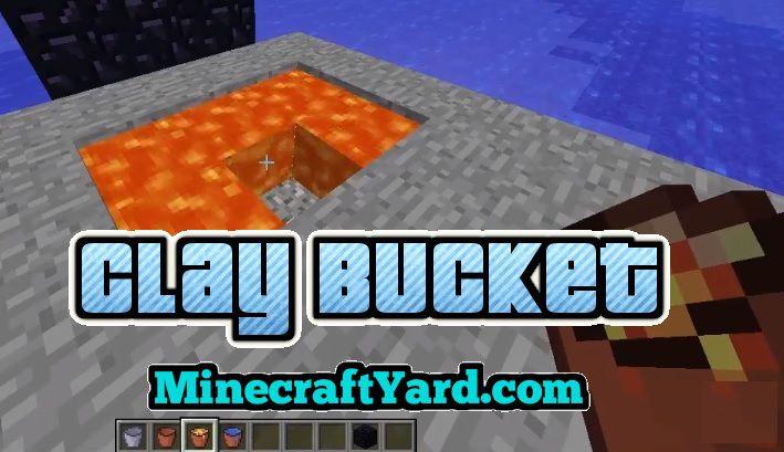 Clay Bucket 1.14.3/1.13.2/1.12.2/1.11.2