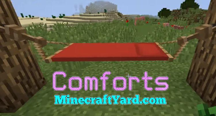 Comforts Mod 1.15.2/1.14.4/1.13.2/1.12.2