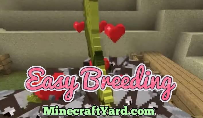 Easy Breeding Mod 1.16.5/1.15.2