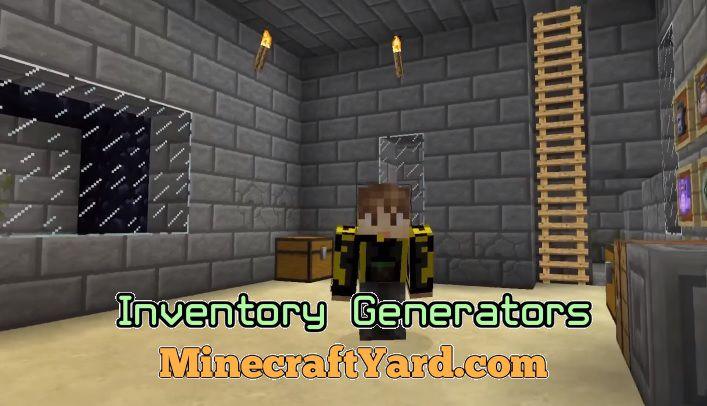Inventory Generators 1.14.3/1.13.2/1.12.2/1.11.2