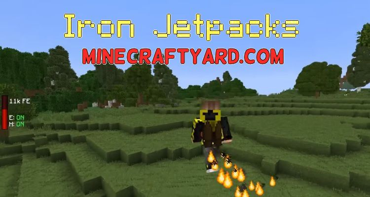 Iron Jetpacks 1.14.4/1.13.2/1.12.2/1.11.2