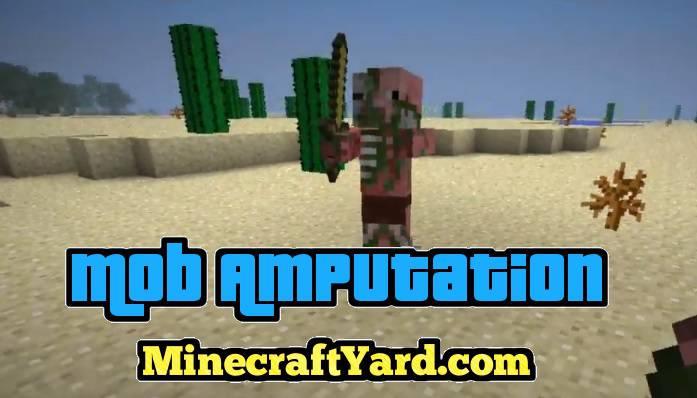 Mob Amputation Mod 1.14.3/1.13.2/1.12.2/1.11.2