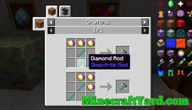 Spectrite Mod 1.10.2