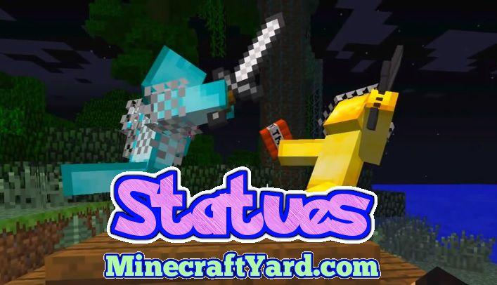 Statues Mod 1.14.4/1.13.2/1.12.2/1.11.2