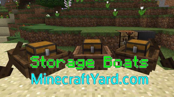 Storage Boats 1.14/1.13.2/1.12.2/1.11.2