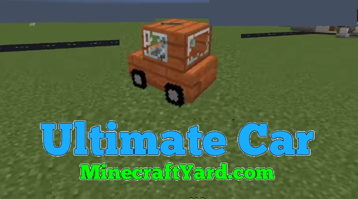 Ultimate Car 1.15.2/1.14.4/1.13.2/1.12.2/1.11.2