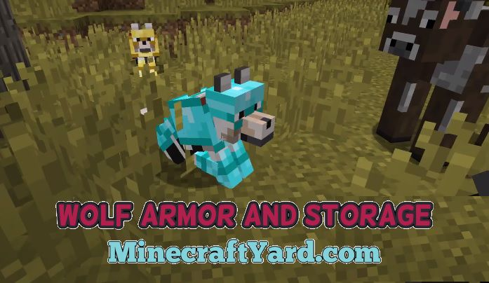 Wolf Armor and Storage Mod 1.14.3/1.13.2/1.12.2/1.11.2