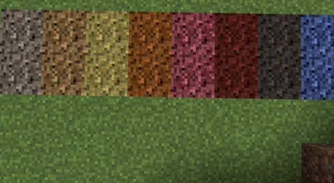Inspirations Mod soil color texture