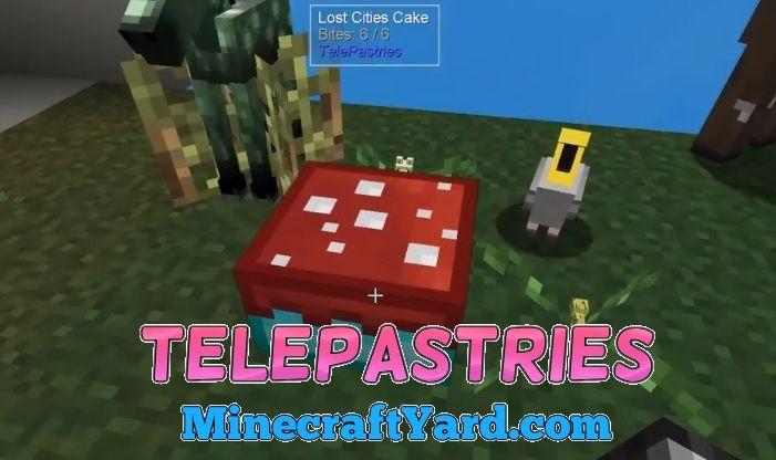 TelePastries Mod 1.16.4/1.15.2
