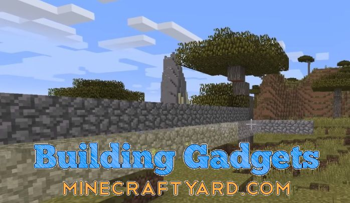 Building Gadgets Mod for Minecraft