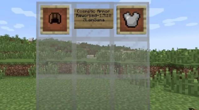 Cosmetic Armor Reworked description