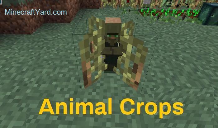 Animal Crops Mod 1.15.2/1.14.4/1.13.2