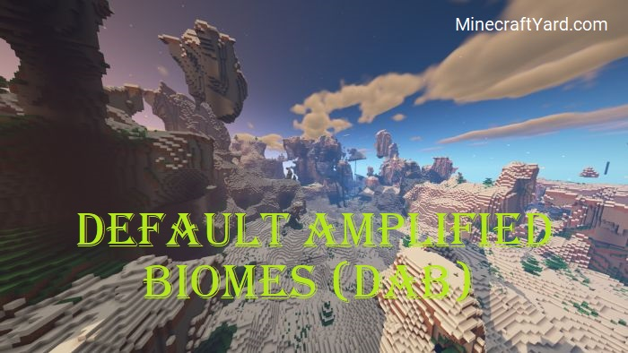 Default Amplified Biomes 1.15.2/1.14.4