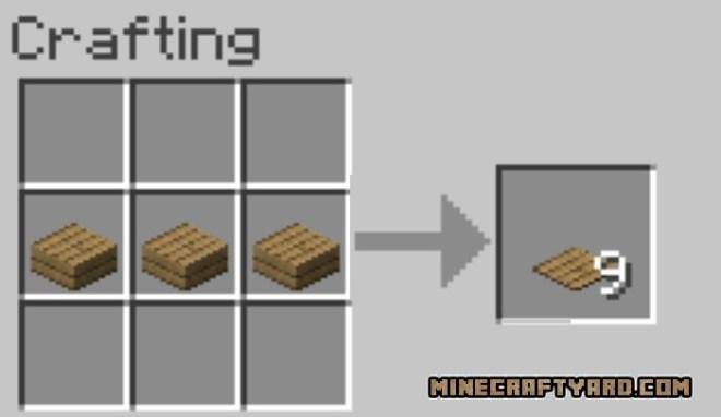 Carpet Stairs Mod recipe