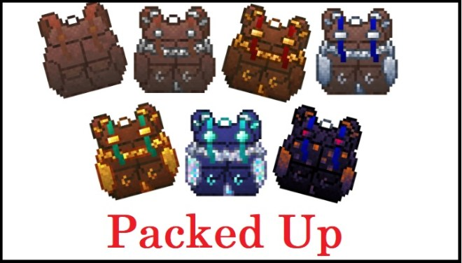 Packed Up Mod 1.15.2/1.14.4