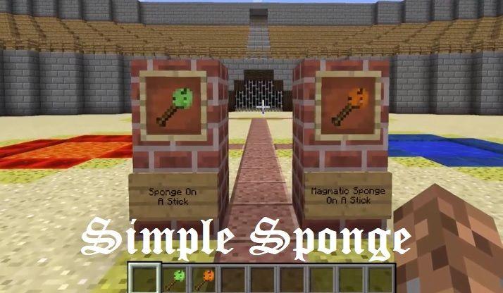 Simple Sponge 1.16.5/1.15.2