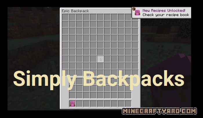 Simply Backpacks 1.16.4/1.15.2