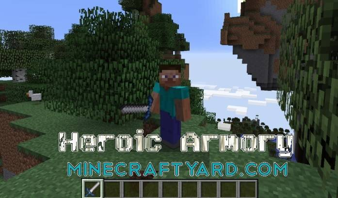 Heroic Armory Mod 1.16.5/1.15.2