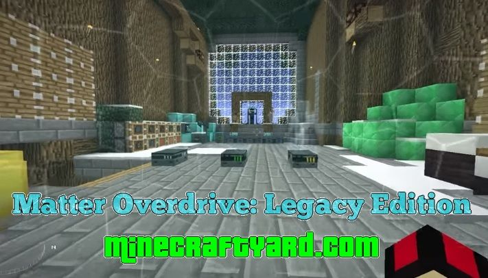 Matter Overdrive Legacy Edition Shield 1.16.4/1.15.2