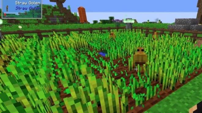 Straw Golem harvesting