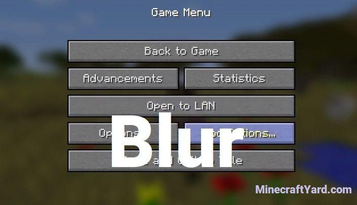 Blur mod 1.16.5/1.15.2