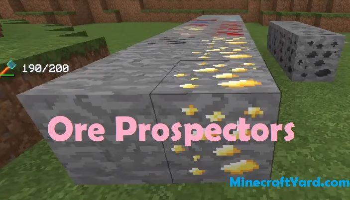 Ore Prospectors 1.16.5/1.15.2