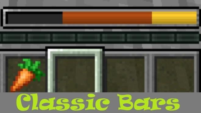 Classic Bars Mod 1.15.2/1.14.4