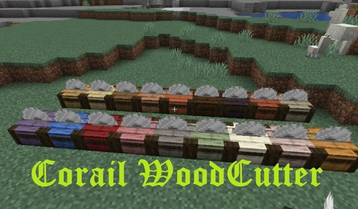 Corail Woodcutter 1.16.5/1.15.2