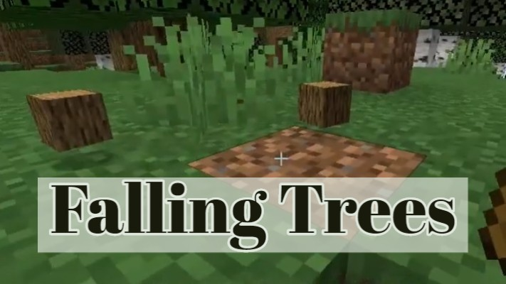 Falling Trees Mod 1.16.5/1.15.2