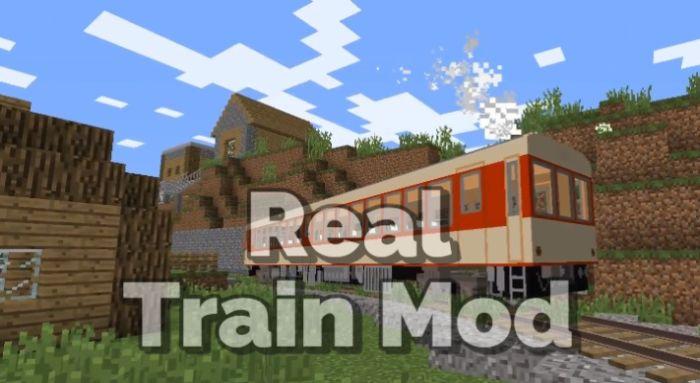 Real Train Mod 1.16.5/1.15.2