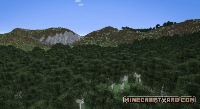 TerraForged Mod 3
