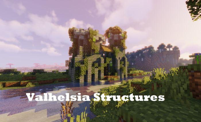 Valhelsia Structures Mod 1.16.4/1.15.2