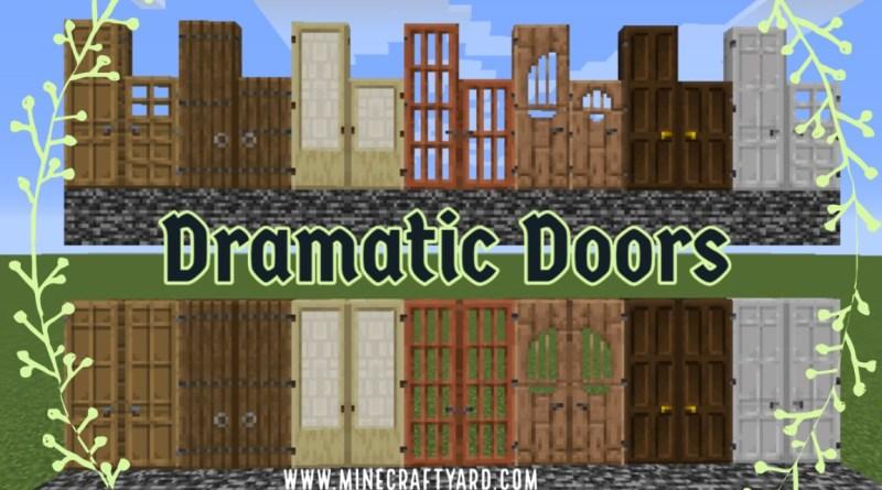 Dramatic Doors 1.16.5/1.15.2