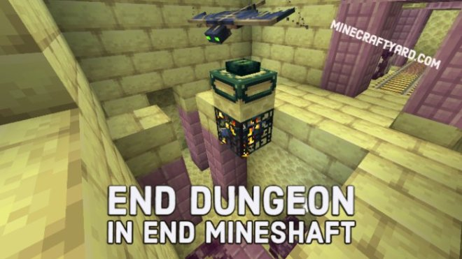 End Dungeon in End Mineshaft