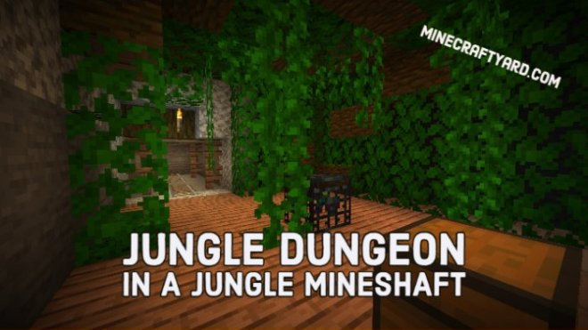 Jungle Dungeon in a Jungle Mineshaft