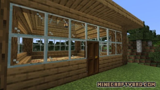 Pane in the glass mod 3