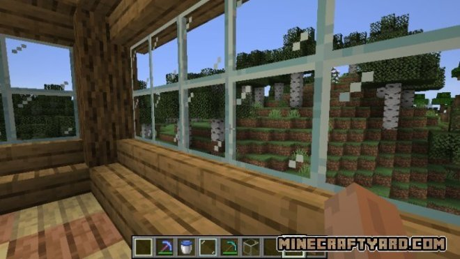 Pane in the glass mod 1