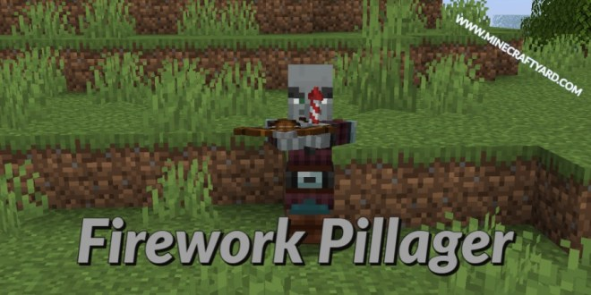 Savage and Ravage Firework Pillager