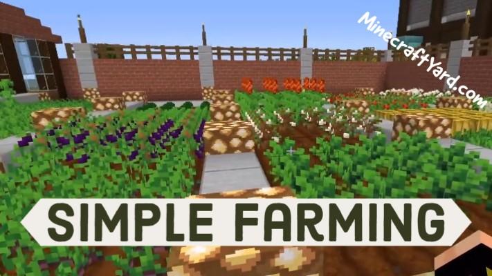 Simple Farming Mod 1.16.5/1.15.2