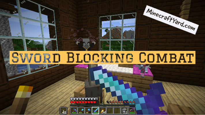 Sword Blocking Combat 1.16.3/1.15.2