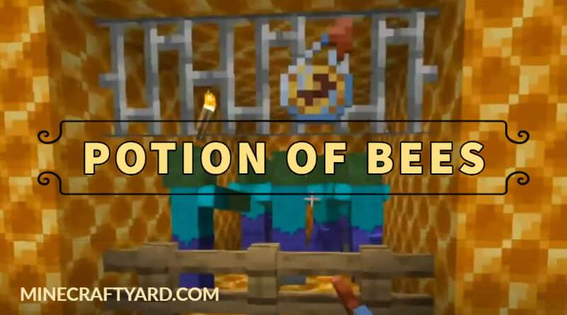 Potion of Bees Mod 1.16.3/1.15.2