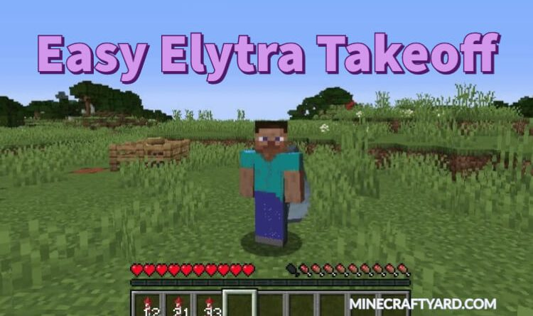 Easy Elytra Takeoff 1.16.5/1.15.2