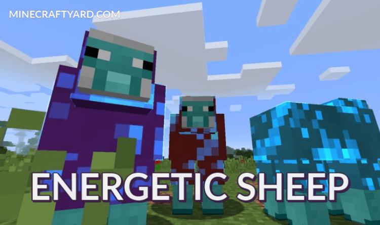 Energetic Sheep Mod 1.16.5/1.15.2