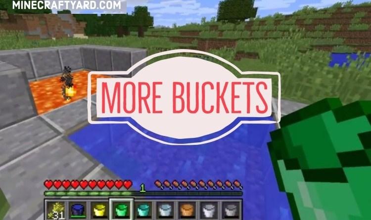 More Buckets Mod 1.16.5/1.12.2