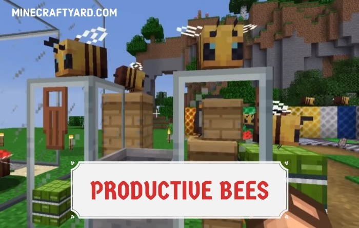 Productive Bees 1.16.5/1.15.2