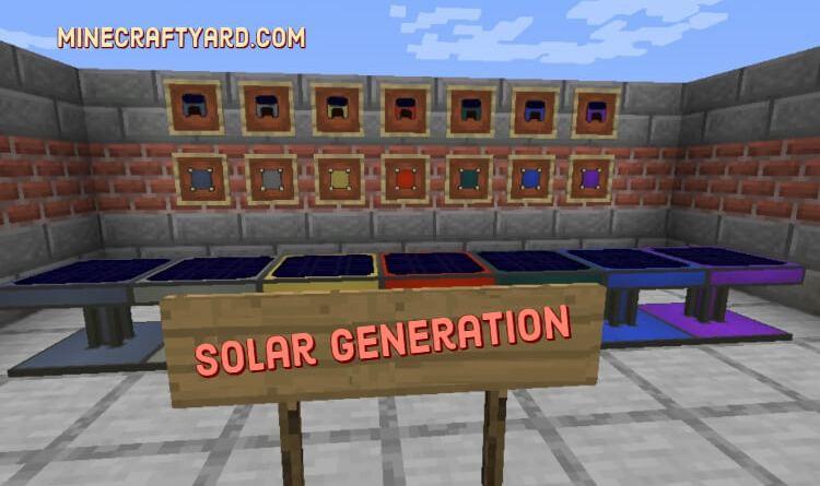Solar Generation Mod 1.16.5/1.15.2