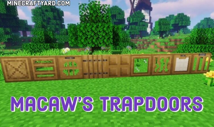 Macaw's Trapdoors 1.16.4