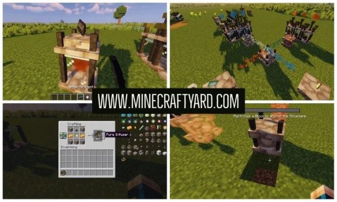 Elemental Craft Mod 1