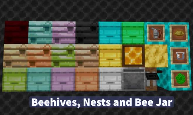 Resourceful Bees Mod 1