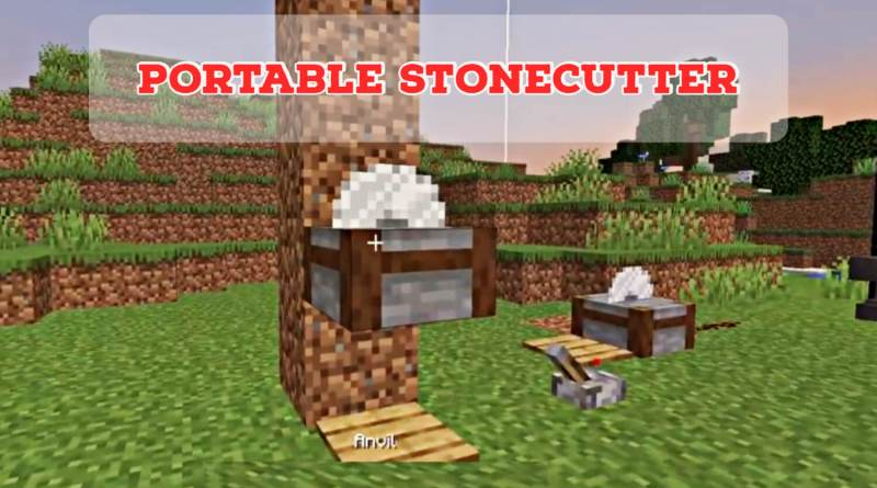 Portable Stonecutter 1.16.5